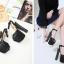 รองเท้าส้นสูงสีดำ ไซต์ 34-40 thumbnail 4
