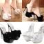 รองเท้าส้นสูงสีขาว/ดำ ไซต์ 34-39 thumbnail 1