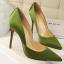 รองเท้าส้นสูงปลายแหลมทรงสวยสีดำ/แดง/เขียว/ชมพูนู๊ด ไซต์ 34-39 thumbnail 5