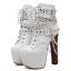 รองเท้าบูท ไซต์ 34-40 สีขาว/ดำ thumbnail 7