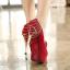 รองเท้าส้นสูงสีแดง/ดำ ไซต์ 34-39 thumbnail 8