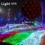 ไฟตาข่าย LED ขนาดใหญ่ 3x3 m สีแดง (กระพริบ) thumbnail 1