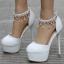 รองเท้าเจ้าสาวสีขาว ไซต์ 34-41 thumbnail 1