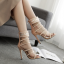 รองเท้าส้นสูงสีดำ/ครีมไซต์ 35-40 thumbnail 6