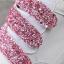 รองเท้าผ้าใบเสริมส้นสีชมพู/ดำ/เงิน ไซต์ 35-39 thumbnail 12