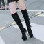 รองเท้าบูทส้นสูง ไซต์ 34-39 สีดำ/แดง/ครีม/เทา thumbnail 7