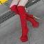 รองเท้าบูทส้นสูง ไซต์ 34-39 สีดำ/แดง/ครีม/เทา thumbnail 11