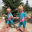 ชุดว่ายน้ำเด็กควบคุมอุณหภูมิ แขนสั้น ขาสั้น thumbnail 7