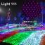 ไฟตาข่าย LED ขนาดใหญ่ 3x3 m สีชมพู (กระพริบ) thumbnail 1