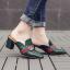 รองเท้าส้นสูง ไซต์ 35-39 มี 2 รุ่น ดำ/ครีม และ ดำ/เขียว thumbnail 8