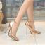 รองเท้าส้นสูงปลายแหลม 5.2 นิ้ว สีดำ/แดง/เงิน/ทอง/น้ำเงิน ไซต์ 35-43 thumbnail 2