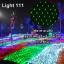 ไฟตาข่าย LED ขนาดใหญ่ 3x3 m. สีเขียว (กระพริบ) thumbnail 1