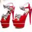 รองเท้าส้นสูงสีขาว/ดำ/แดง ไซต์ 34-39 thumbnail 8