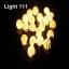 ไฟปิงปอง 20 led สีวอมไวท์ cl-032 thumbnail 3