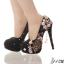 รองเท้าเจ้าสาว ไซต์ 34-39 สีม่วง สีดำ สีชมพู สีเงิน ส้นสูง 12,14 ซม. thumbnail 12