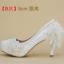 รองเท้าเจ้าสาวสีขาว ไซต์ 34-40 สูง 5.6 / 4.4 / 3.2 นิ้ว thumbnail 4