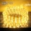 ไฟสายยาง LED (ท่อกลม) 10 m. สีวอมไวท์ thumbnail 1
