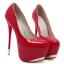รองเท้าส้นสูง ไซต์ 34-40 สีแดง,ดำ,ขาว thumbnail 8