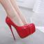 รองเท้าส้นสูง ไซต์ 35-40 สีดำ/แดง/ดำพื้นแดง/ดำพื้นเงิน thumbnail 4