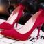 รองเท้าส้นสูง ไซต์ 34-39 สีดำ สีแดง สีเทา สีชมพู thumbnail 2