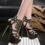 รองเท้าส้นสูงสีดำ ไซต์ 34-40 thumbnail 1