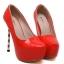 รองเท้าส้นสูง ไซต์ 35-40 สีดำ สีแดง สีขาว thumbnail 12