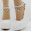 รองเท้าเจ้าสาวส้นเตารีดสีขาวมุข/ชมพู ไซต์ 34-42 thumbnail 2