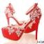 รองเท้าเจ้าสาวสีแดง ไซต์ 34-39 thumbnail 8