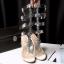รองเท้าส้นสูงแต่งคริสตัลดูสวยหรู สีพื้นดำ/ขาว/นู๊ด ไซต์ 34-43 thumbnail 14