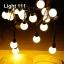 ไฟปิงปอง 20 led สีวอมไวท์ cl-032 thumbnail 1