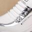 รองเท้าผ้าใบเสริมส้นสีขาว/ดำ ไซต์ 35-39 thumbnail 5