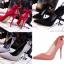 รองเท้าส้นสูง ไซต์ 34-39 สีดำ สีแดง สีเทา สีชมพู thumbnail 1