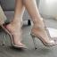 รองเท้าส้นสูงสีเงินประดับคลิสตัล ไซต์ 35-40 thumbnail 8