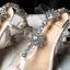 รองเท้าส้นสูงแต่งคริสตัลดูสวยหรู สีพื้นดำ/ขาว/นู๊ด ไซต์ 34-43 thumbnail 13