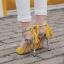 รองเท้าส้นสูงสีเหลือง/ดำ ไซต์ 35-40 thumbnail 5