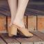 รองเท้าส้นสูง ไซต์ 35-39 มี 2 รุ่น ดำ/ครีม และ ดำ/เขียว thumbnail 4