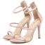 รองเท้าส้นสูงสีชมพู/ดำ ไซต์ 34-39 thumbnail 9