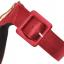 รองเท้าส้นสูงผ้าไหมเทียมสวยหรูสีม่วง/ฟ้า/แดง/ดำ ไซต์ 34-43 thumbnail 12