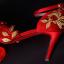 รองเท้าเจ้าสาวสีแดงแต่งดีเทลสวย ไซต์ 34-39 thumbnail 6