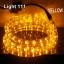 ไฟสายยาง LED (ท่อกลม) 10 m. สีเหลือง thumbnail 1