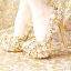 รองเท้าเจ้าสาวสีทองงานสั่งทำ ไซต์ 34-39 thumbnail 5