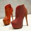 รองเท้าบูท ไซต์ 34-43 สีเทา/แดง/ดำ thumbnail 4