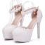 รองเท้าเจ้าสาวสีขาวมุข ไซต์ 34-41 thumbnail 3