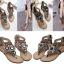 รองเท้าส้นแบน ไซต์ 35-39 สีดำ/เทา thumbnail 1