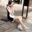 รองเท้าส้นสูงแต่งคริสตัลดูสวยหรู สีพื้นดำ/ขาว/นู๊ด ไซต์ 34-43 thumbnail 7