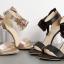 รองเท้าแฟชั่น ไซต์ 35-40 สีดำ/ทอง thumbnail 8