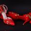 รองเท้าเจ้าสาวสีแดงแต่งดีเทลสวย ไซต์ 34-39 thumbnail 1