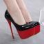 รองเท้าส้นสูง ไซต์ 35-40 สีดำ/แดง/ดำพื้นแดง/ดำพื้นเงิน thumbnail 7