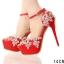 รองเท้าเจ้าสาวสีแดง ไซต์ 34-39 thumbnail 2