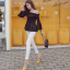 รองเท้าส้นสูงสีเหลือง/ดำ ไซต์ 35-40 thumbnail 7